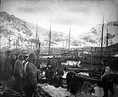 The fishing village of Svolvær ca. 1890. Photo: The Lofoten Museum.
